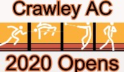 Crawley AC Open Meetings 2020